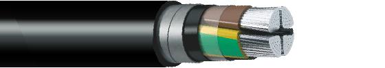 Купить АПвБбШп 4*25 кабель силовой с оболочкой из сшитого полиэтилена в Алматы / в Казахстане оптом