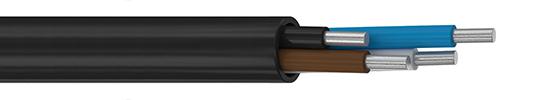 Купить Кабель АВВГнг LS 3*6+1*4 силовой, с алюминиевыми жилами в Алматы / в Казахстане оптом